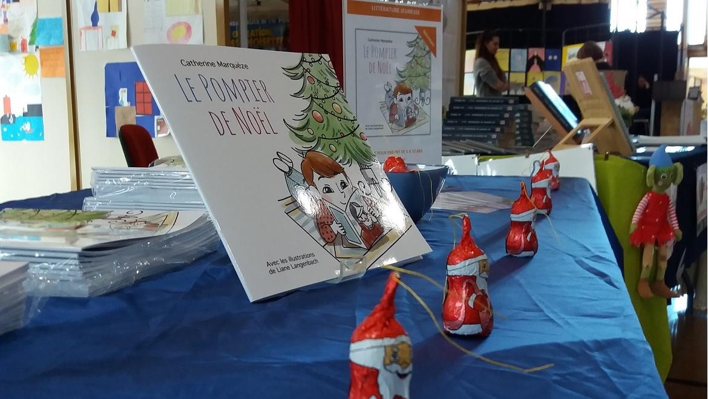 Le Pompier de Noël : séance de dédicaces mercredi 13 novembre 2019 à la Fête du Livre Jeunesse Et BD – Léognan